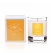 Darčeková sviečka dekoračná v skle citronová tráva