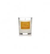 Darčeková sviečka v skle malá kadidlo a myrha