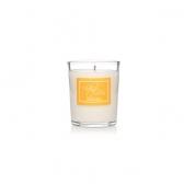 Narodeninová sviečka darčeková v skle malá citrónová tráva