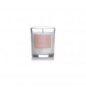 Narodeninová sviečka darčeková v skle malá santalové drevo