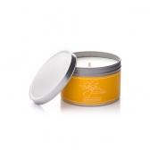 Relaxačná sviečka darčeková v plechovke citrónová tráva