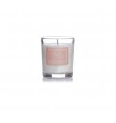 Relaxačná sviečka darčeková v skle malá santalové drevo